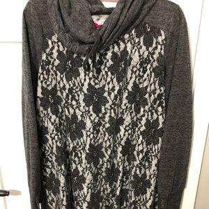 Maurice's sweater tunic/dress size 1